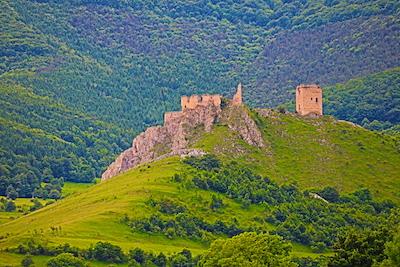 Castle in Ruins w