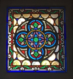 Stained glass w