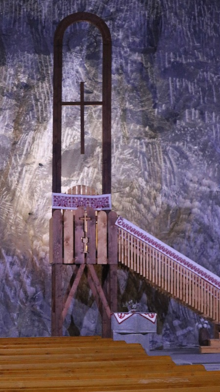 Transylvania Salt Mine Chapel w