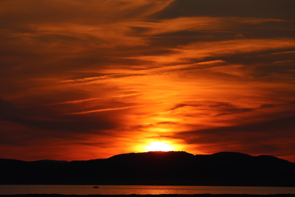 Vermont Sunset w